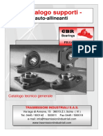 GBR - Supporti autoallineanti