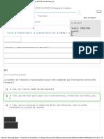 Partie 1 - Le Diagnostic Financier Examen Blanc 1 New ICCF10-4 Courseware He