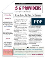 Payers & Providers California Edition – March 24, 2011