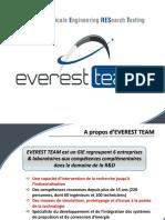 Presentation Everest Team CLAAS 10 janvier 13