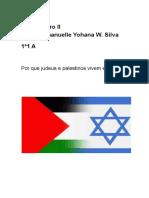 Por Que Judeus e Palestinos Vivem Em Conflito