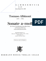 Albinoni Sonata