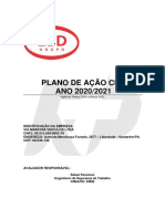 PLANO DE AÇÃO CIPA 2020