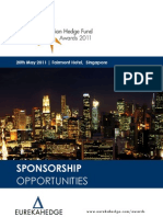 Eurekahedge Asian Hedge Fund Awards 2011 Sponsorship Brochure