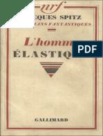 eBook Jacques Spitz - LHomme Elastique