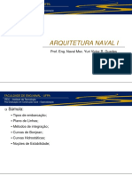 Arquitetura Naval 1 - Aulas