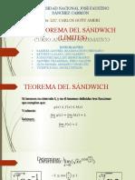 TEOREMA DEL SÁNDWICH (exposición  grupo5)