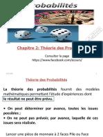 Chapitre 2 Théorie des Probabilités lahraoua