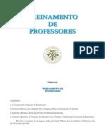 Treinamento de Professores