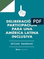 Deliberación y Participación Para Una América Latina Inclusiva