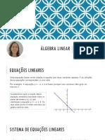 03. Matrizes e Sistemas de Equações Lineares