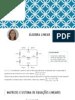 05. Matrizes e Sistemas de Equações Lineares