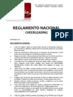 REGLAMENTO NACIONAL DE CHEERLEADING P.A.P.