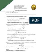 Examen Parcial de Econometría I