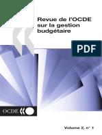 Revue de l'OCDE sur la gestion budgétaire