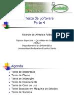 Aula 9 - Teste de Software - Parte 4