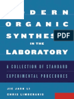 Modern Organic Synthesis in the Laboratory (2007)