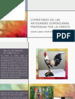 Artesanias Dominicanas Premiadas Por La Unesco