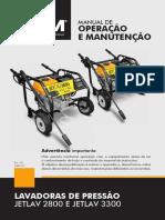 MANUAL LAVADORAS DE PRESSÃO