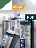 Catalogo Fixacao Quimica