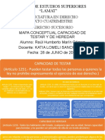 CAPACIDAD DE TESTAR Y HEREDAR