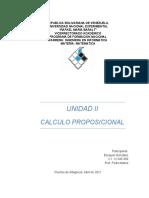Matematica Unidad 2 Calculo Proposicional