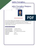 Carlos Andres Torreglosa Julio2021