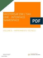 Mastersaf_Interface_Namespace_SAP_DW_TAXONE_Manual_6_Mapeamento_Tecnico