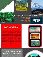 Climas Del Ecuador
