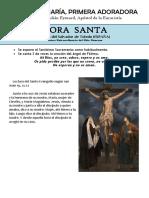 La Virgen María, Primera Adoradora. San Pedro Julián Eymard