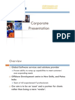 MetaOption Corporate Presentation