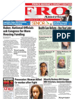 Prince George's County Afro-American Newspaper, March 26, 2011