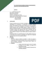 PLAN DE TRABAJO PARA LA  CAPACITACION DE PADRES DE FAMILIA EN CONOCIMIENTOS BASICOS EN EL USO DE SOFTWARE EDUCATIVO