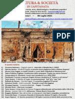 Cultura & Società in Capitanata N. 41 Del 06-07-2021