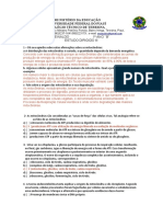 ESTUDO DIRIGIDO III  BIOL MEDIO2021