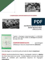 A ABORDAGEM COMPORTAMENTALISTA DE ENSINO_Daniel e José
