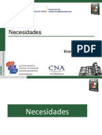 Necesidades y bienes UPT 2020