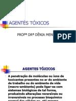 AGENTES TÓXICOS - AULA 2