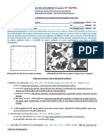 Roteiro para análise micrográfica