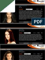 100 Most Beautiful Indian Women
