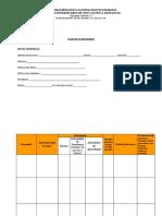 Formato Plan de Clase diario en blanco