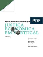 Justica Economica Em Portugal Resolucao Alternativa de Litigios Caderno (2)