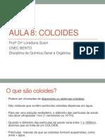 AULA 8 Coloides