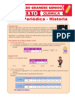 Historia de la Tabla Periodica - Grado 6