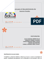 Guía 1 OVOP Descubrimiento Tesoros
