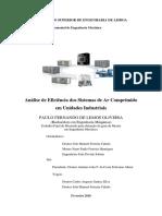 Analise de eficiencia dos Sistemas de Ar Comprimido