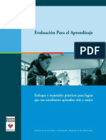 03 EvB Evaluación para el Aprendizaje Básica C. (Mineduc 2006)