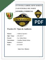 Analisis Del Dicatmen Del Auditor