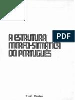 A Estrutura Morfo-Sintática do Português Aplicação do Estruturalismo Linguístico by José Rebouças Macambira (z-lib.org)