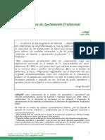 CEDAPP, Síndrome de Agotamiento Profesional, Julio 2006